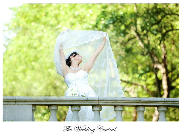 NJ Botanical Gardens Wedding Photography
