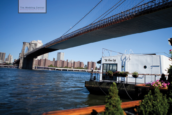 Casual Brooklyn NY Wedding Pictures at River Cafe