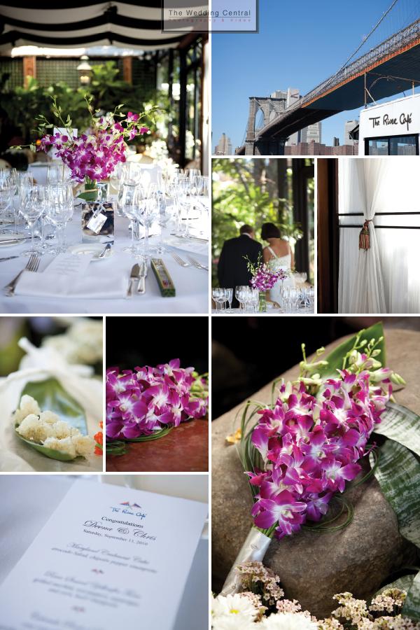 Brooklyn NY Wedding Photography at River Cafe
