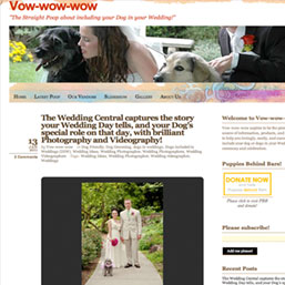 Vow Wow Wow NJ Wedding Photographer