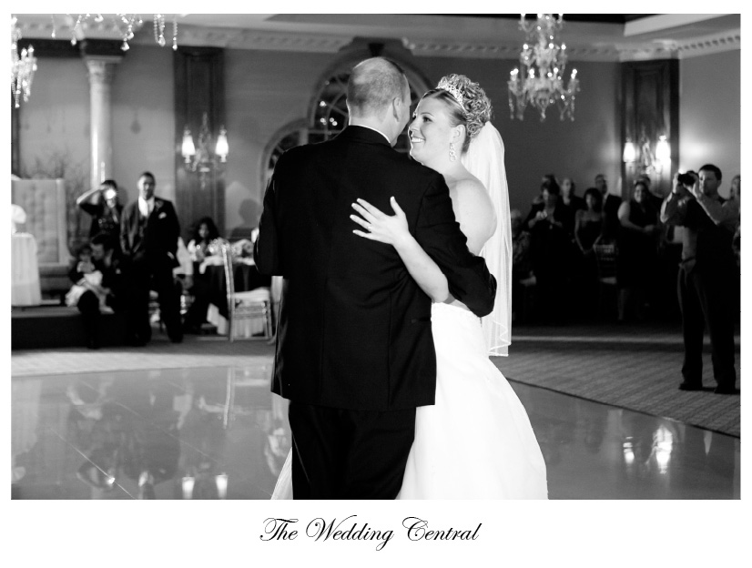 Photojournalistic Black and White NJ Wedding Photography