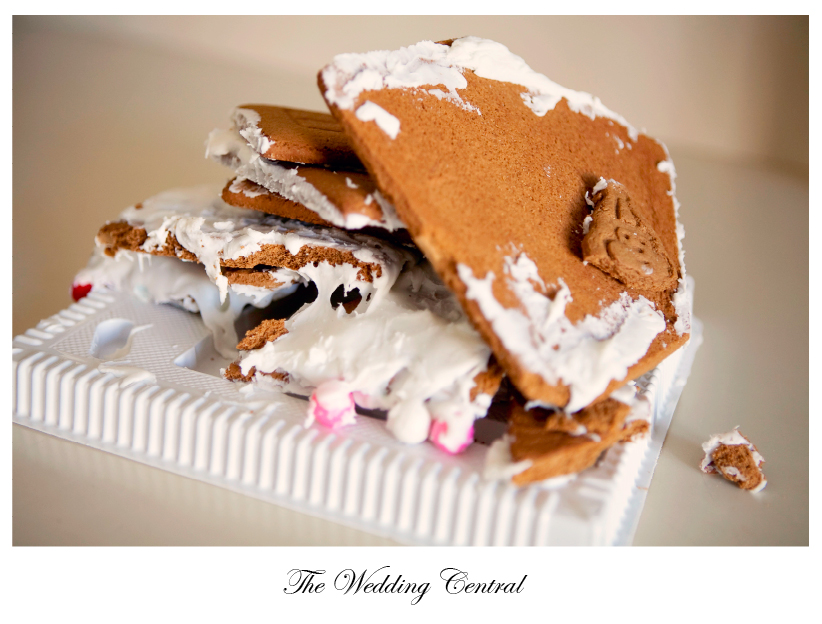 ginger bread house disaster