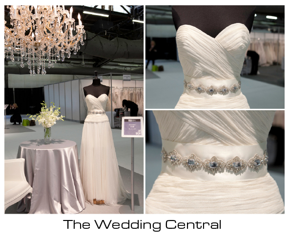 Kevan Hall Wedding Dress - New York International Bridal Market