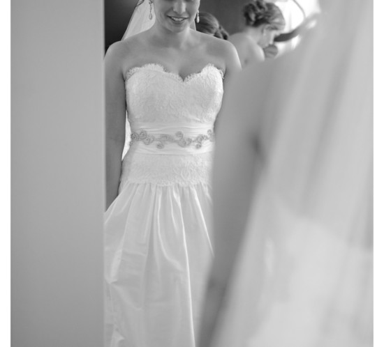 Bride getting ready - NJ Wedding Photographer