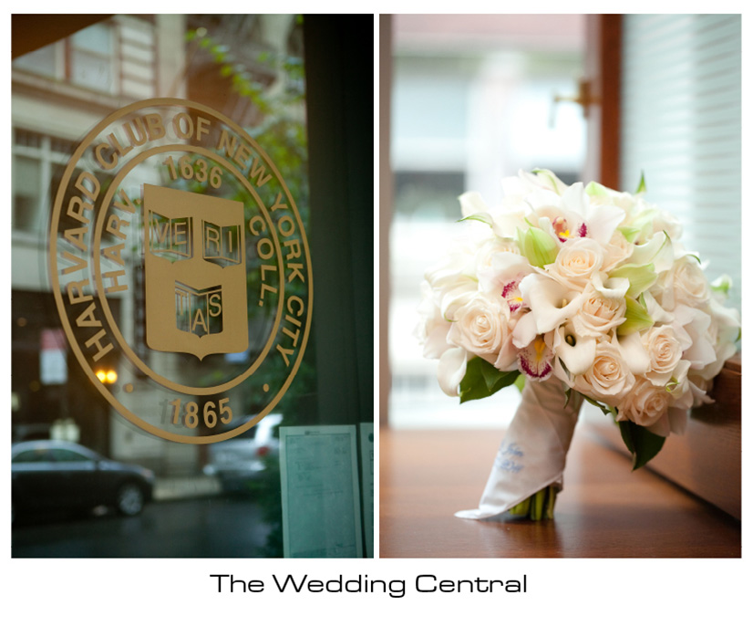 NYC Harvard Club Wedding - NYC Wedding Photographer