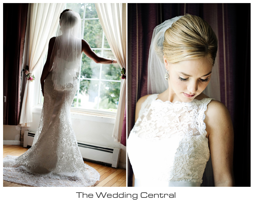 elegant bridal portrait - NJ Westmount Country Club Wedding - Lindsay and Alex Levine Wedding Photos