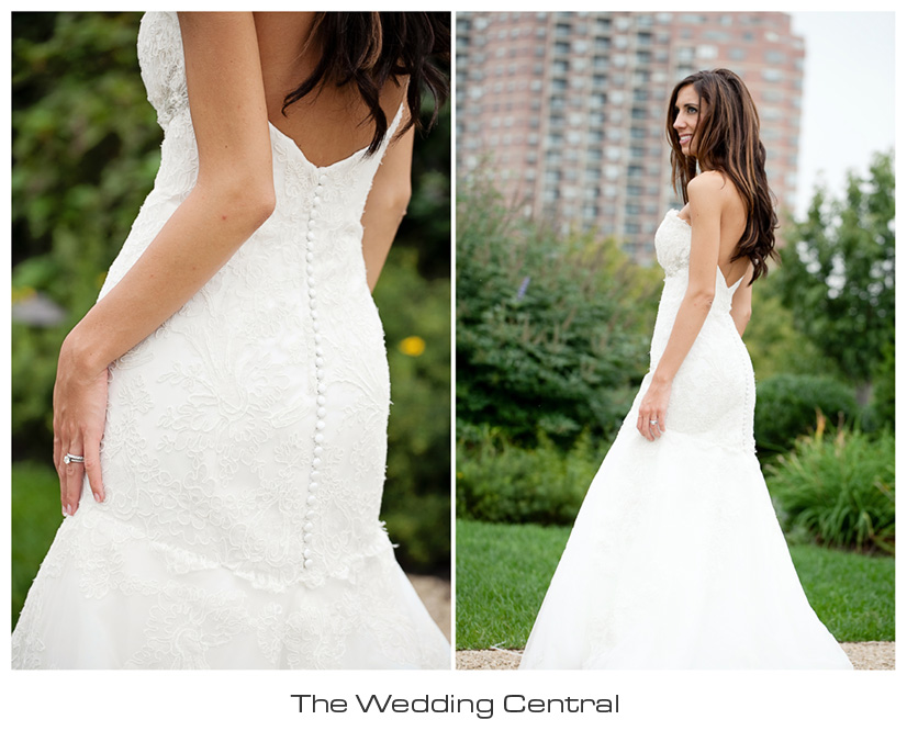 lazaro wedding dress photo