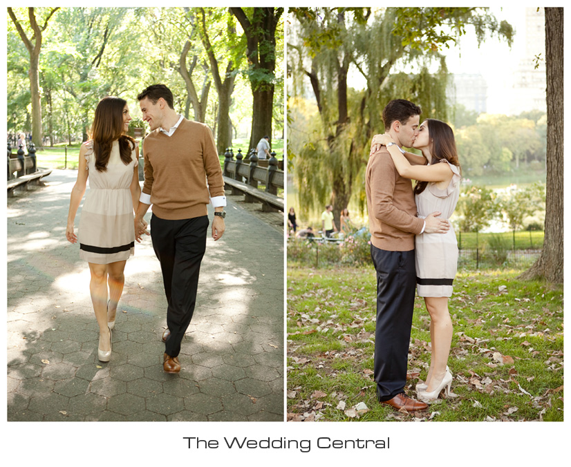 Central Park NYC Engagement - NYC engagement photographers