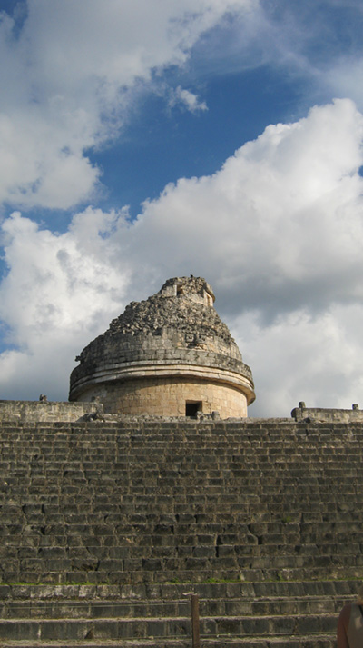 observatory chichen itza - vacations cancun