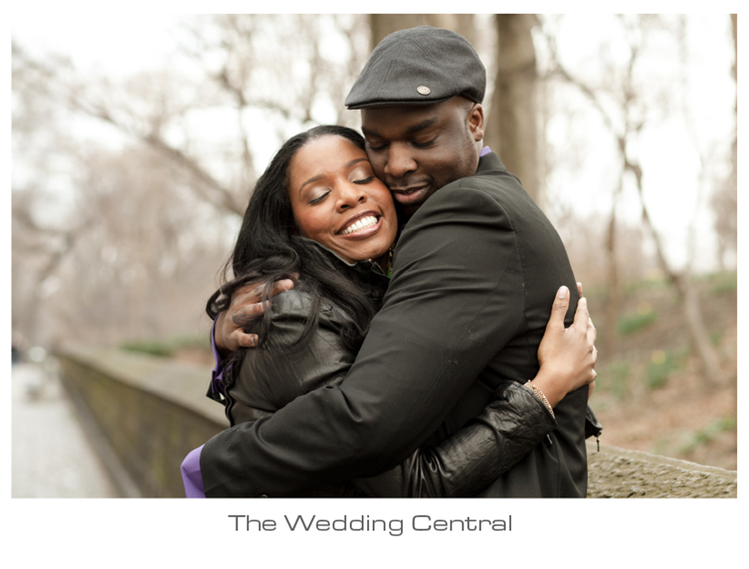 Central Park Engagement - Twyla Calving Engagement Photos