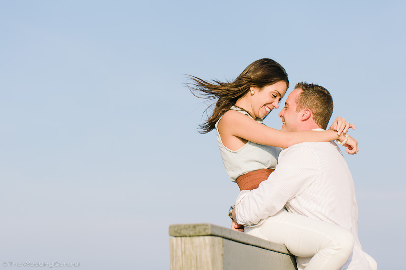 new jersey shore engagement photos - john diana beach engagement photos