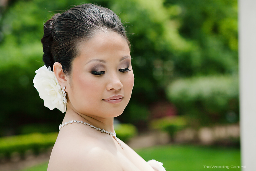Beautiful Asian Bride - Florentine Gardens Wedding - New Jersey Wedding Photography
