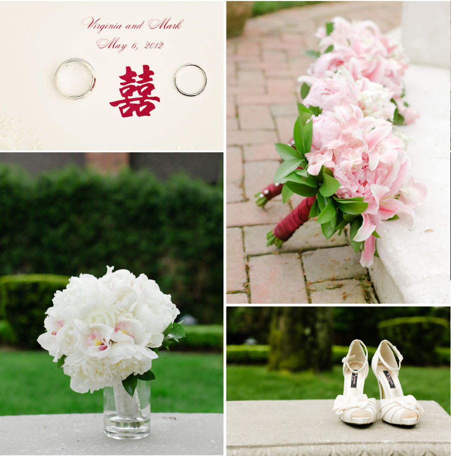 Chinese wedding White Wedding Details - The Estate at Florentine Gardens Wedding - NJ Wedding Photography