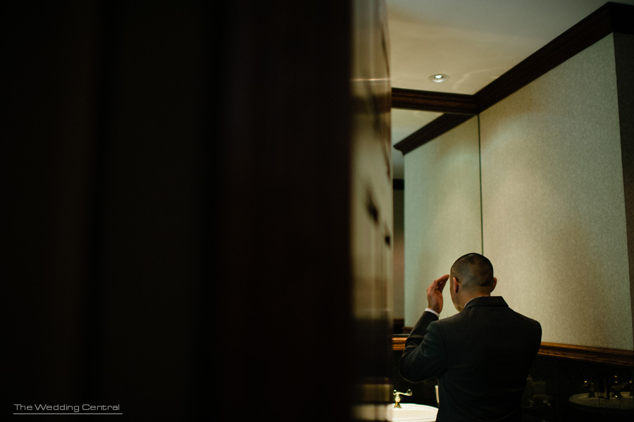 groom getting ready wedding photo - NJ Wedding Photography