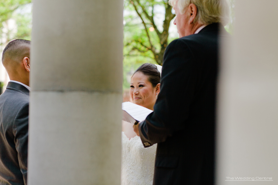 Florentine Gardens Ceremony - NJ Wedding Photography