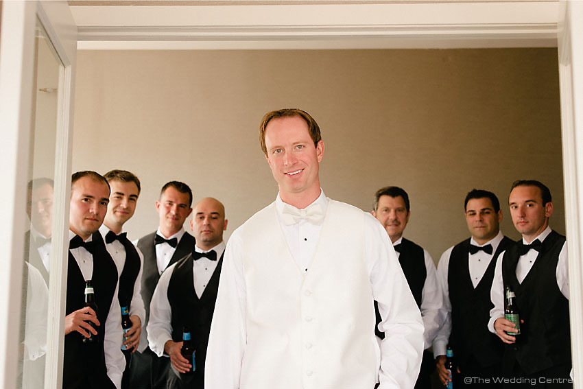 Groomsmen NYC Greek wedding - New York Wedding Photographer