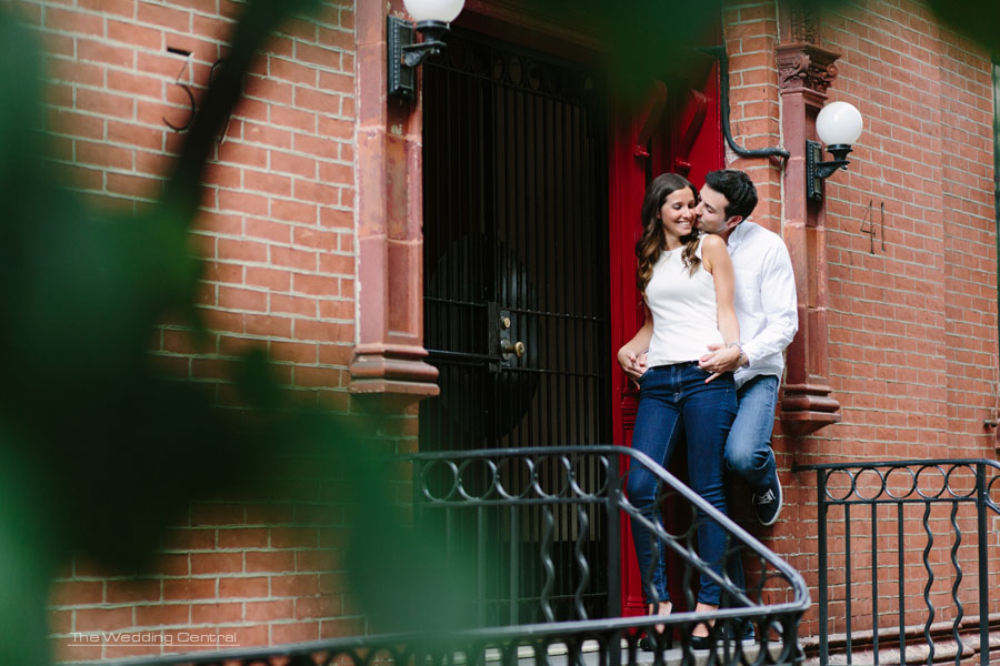 NYC Engagement Photos - NYC Engagement Photos - Union Square Park Engagement - Courtney and Jason