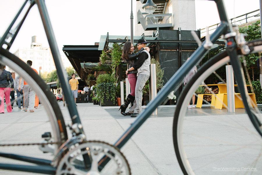 High Line Engagement Photos - NYC - Yadira and Ralph