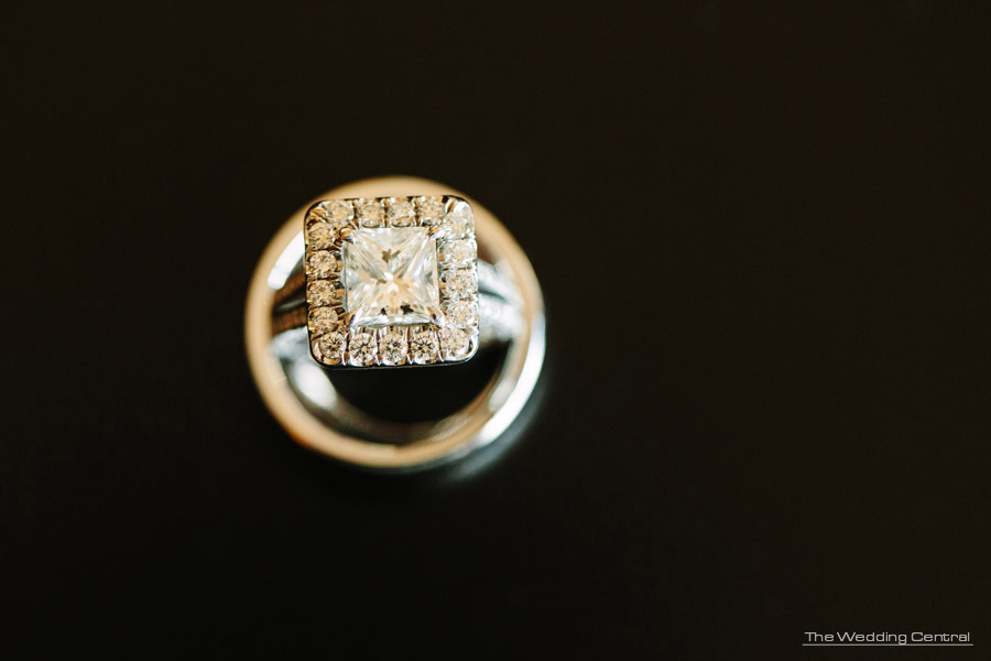 wedding ring - The Venetian Wedding Photos - Hiromi and Elvin NJ Wedding Photos