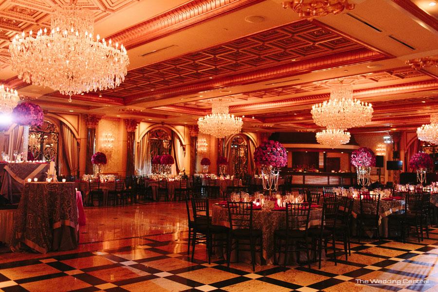 Red Roses ballroom wedding - The Venetian NJ Wedding Photos - Hiromi and Elvin NJ Wedding Photos