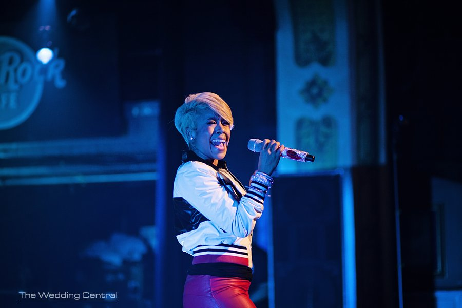 NYC Celebrity birthday party - NYC event photographer - Hard Rock Cafe NYC - Keyshia Cole performing