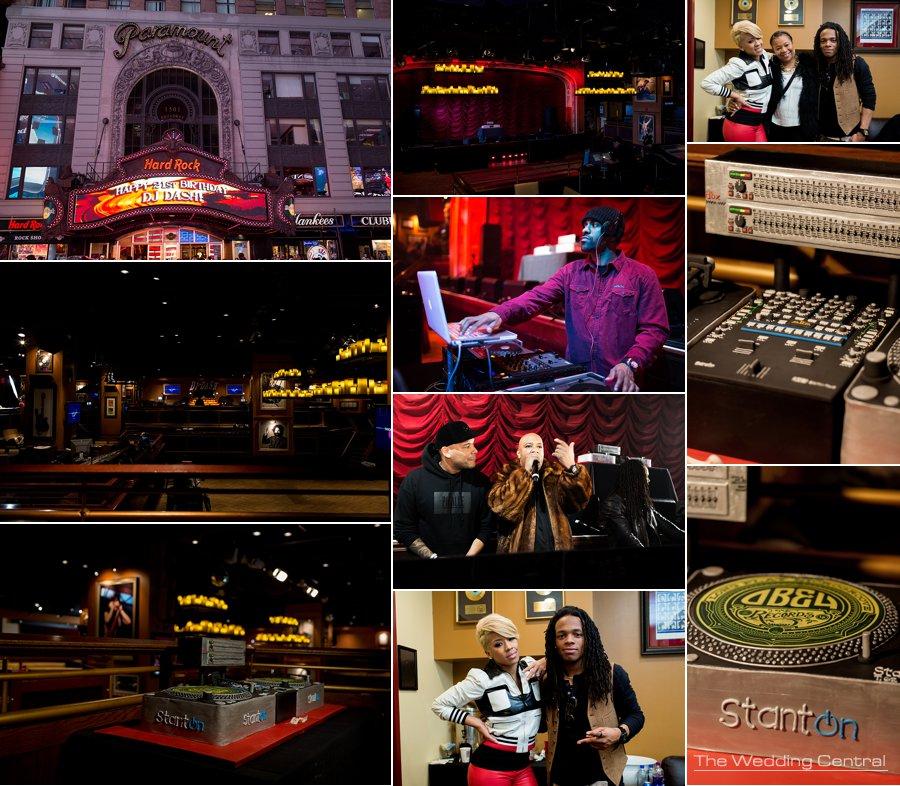 NYC Event Photographer - Keyshia Cole NYC Celebrity birthday party photographer - Hard Rock Cafe NYC