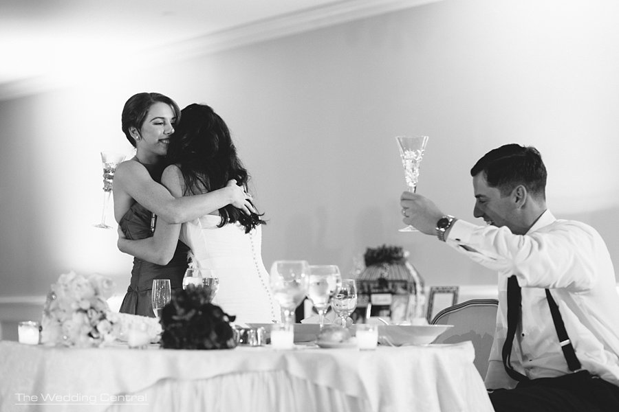 toast -  The Villa Wedding - Mountain lakes NJ