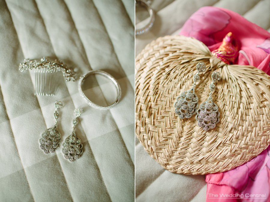 Westmount Country Club Wedding Photos - earrings
