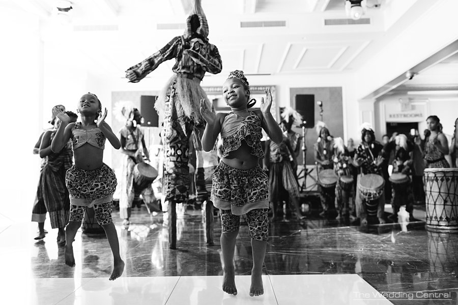 New Jersey wedding photographer -  African dances wedding reception