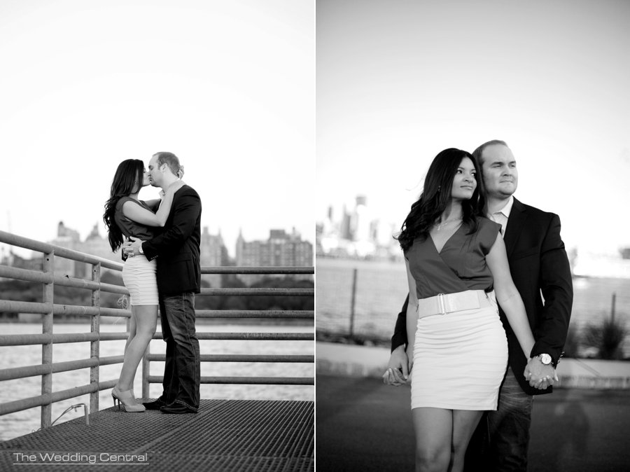 contemporary engagement photos by New Jersey Wedding Photographer