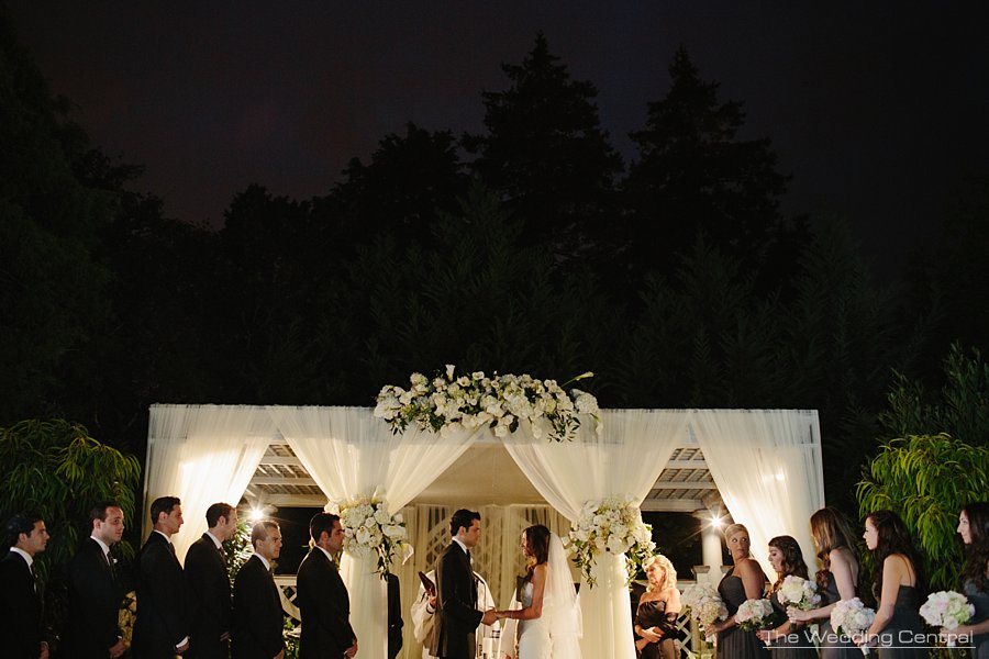 Jewish ceremony - New York Botanical Garden Wedding Photos