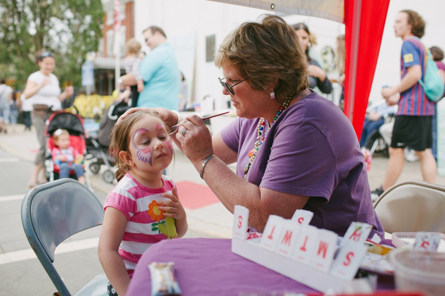 face painting shad fair lambertville new jersey