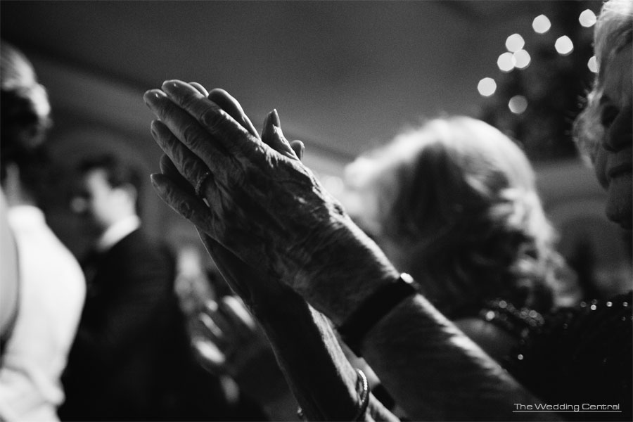 photojournalist wedding photography. Candid photos of grandma's hands at a New York Wedding
