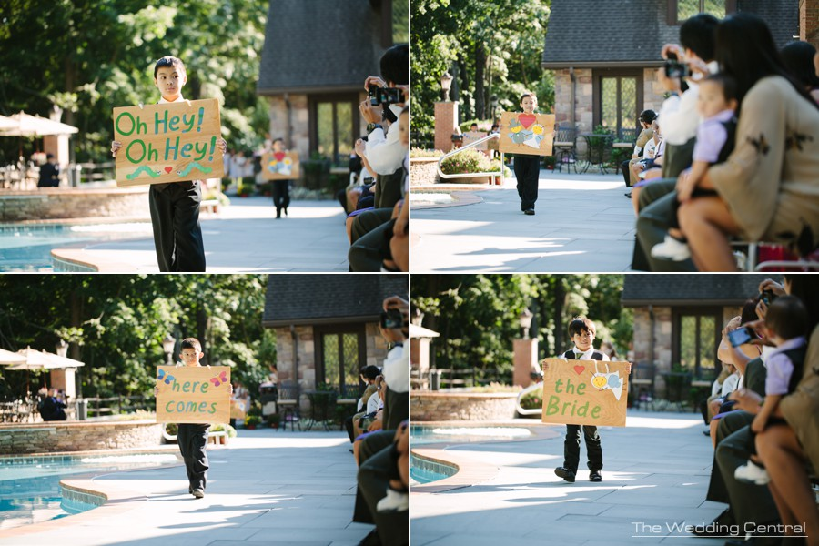 ceremony outdoors wedding photos - pennsylvania  wedding photography