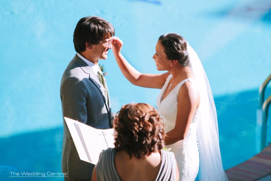 outdoors ceremony wedding photos - pennsylvania wedding photography