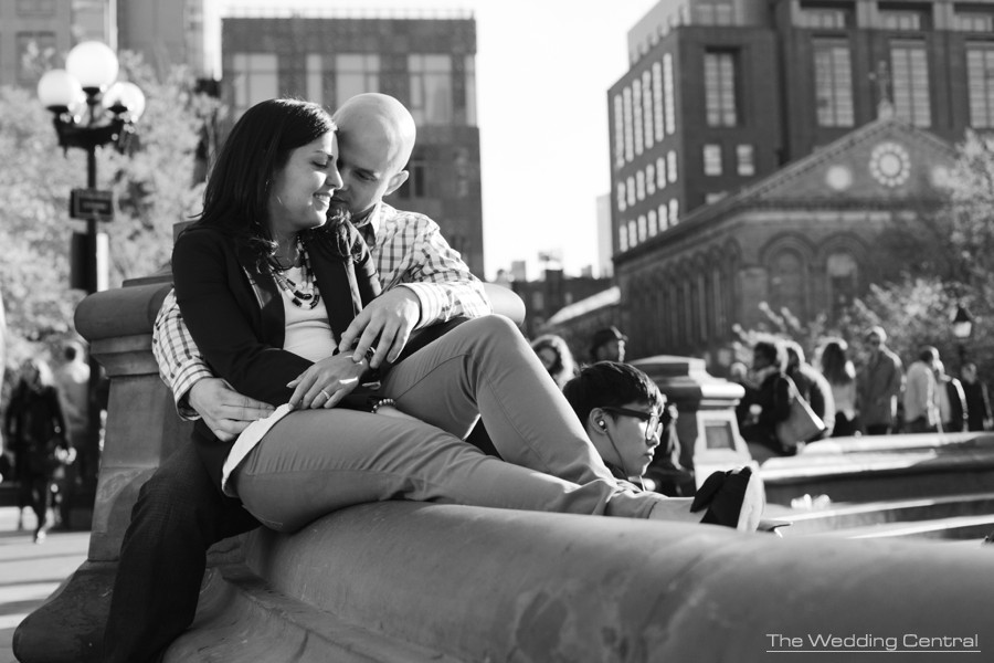Washington Square Park Engagement Photos