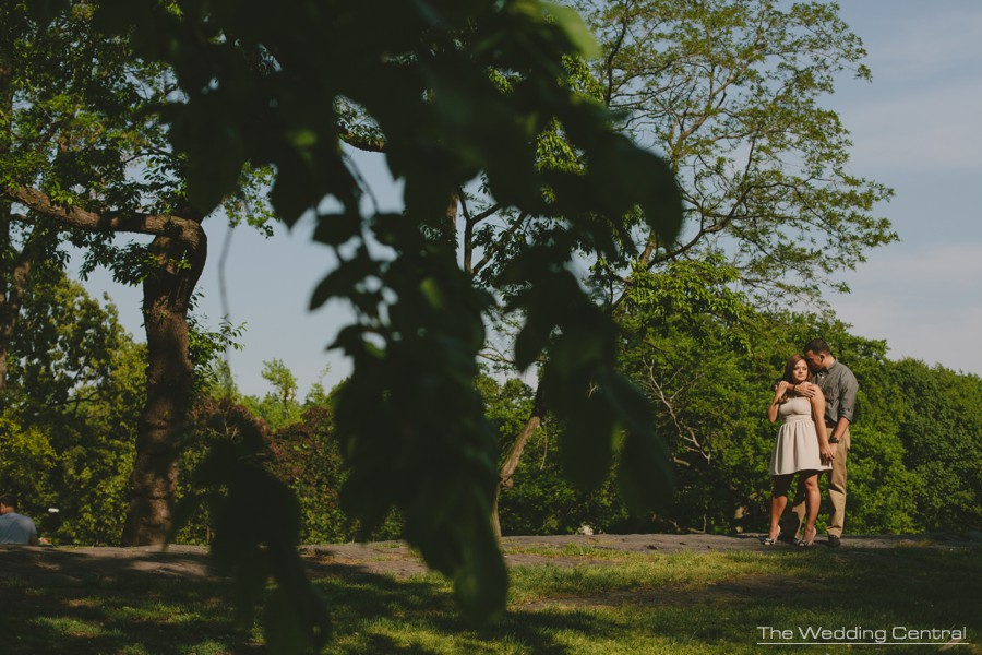 Central Park Engagement Photos - NYC engagement photos