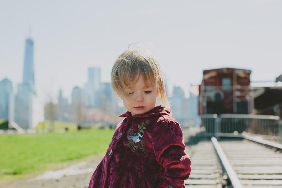 child portrait - Candid Family Portraits - New Jersey Photographer