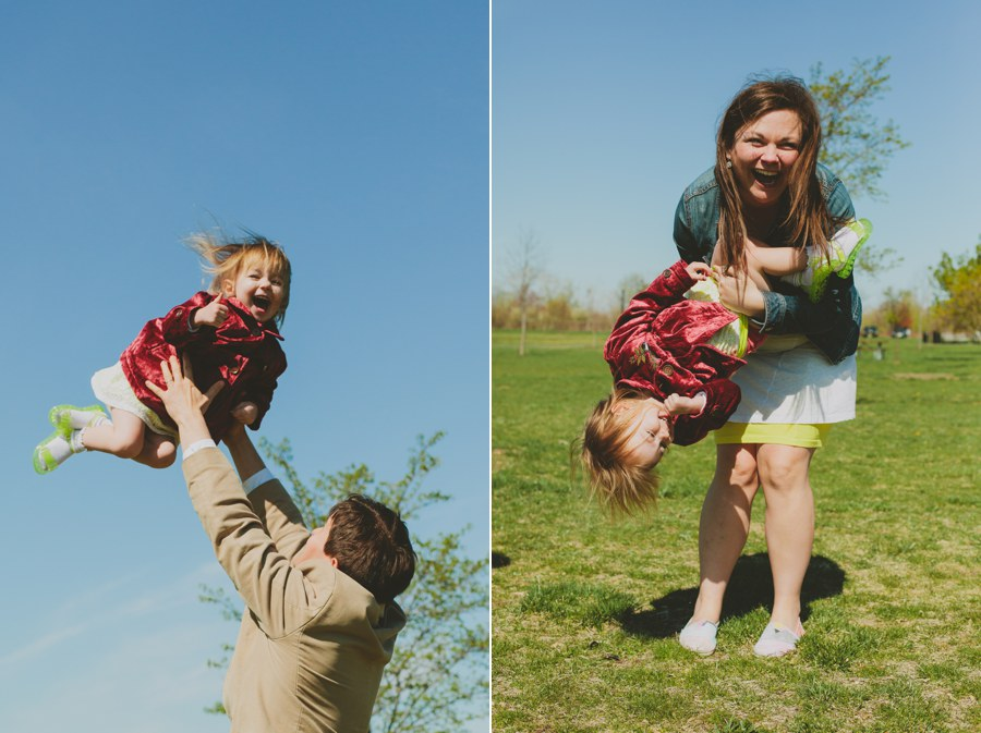 playful child portrait - Candid Family Portraits - New Jersey Photographer - vintage Family pictures photography