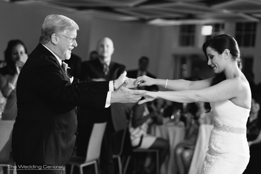 daughter and father dance - maritime parc reception photos - documentary wedding photography in new jersey