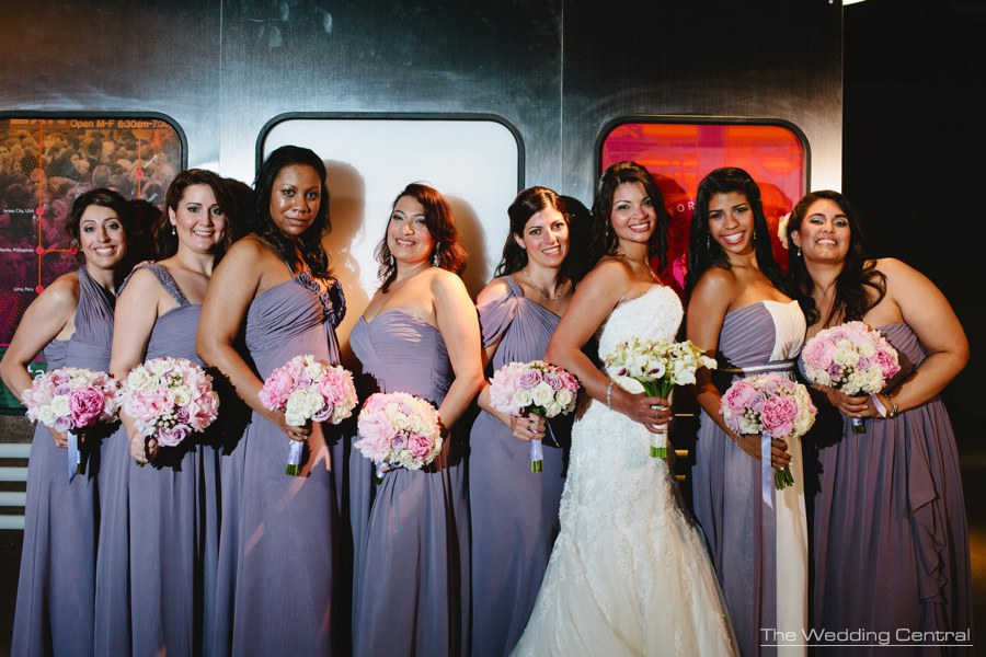 liberty science center wedding photos - nj wedding photographer