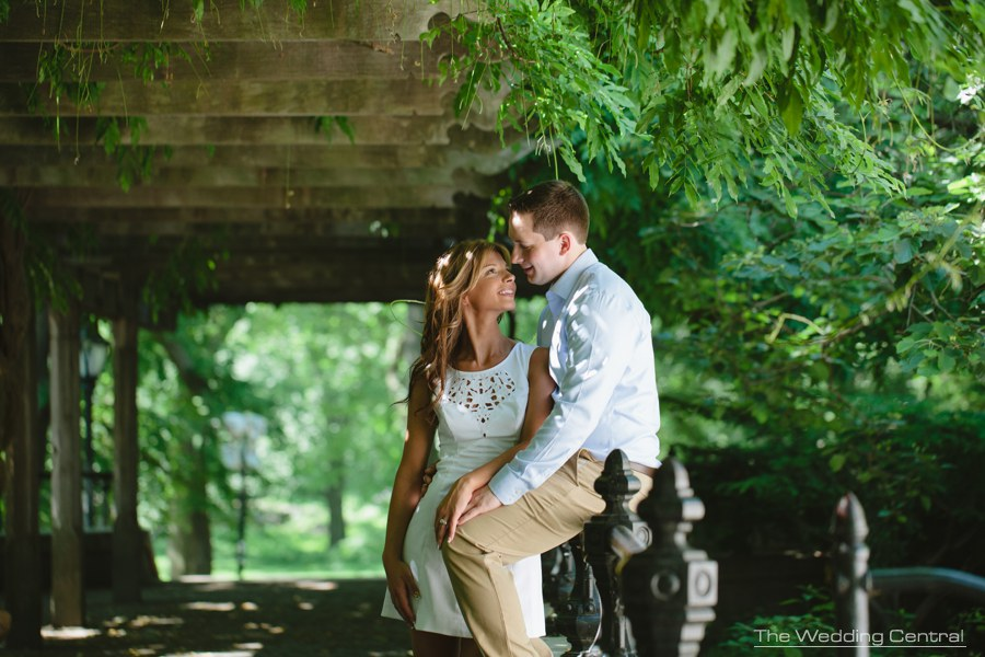 New york city engagement photography - New york city engagement photos - central park engagement photos
