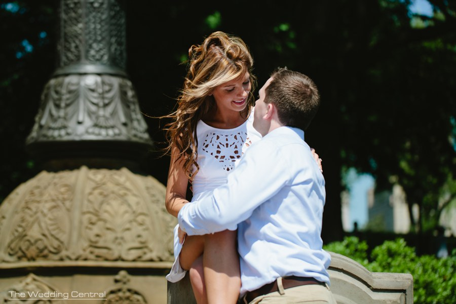 New york city engagement photos - New york city engagement photography - central park engagement photos