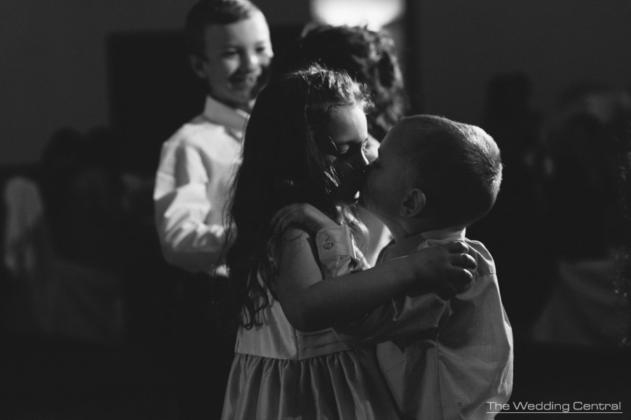 Princeton Marriott at Forrestal Wedding photos - children kissing