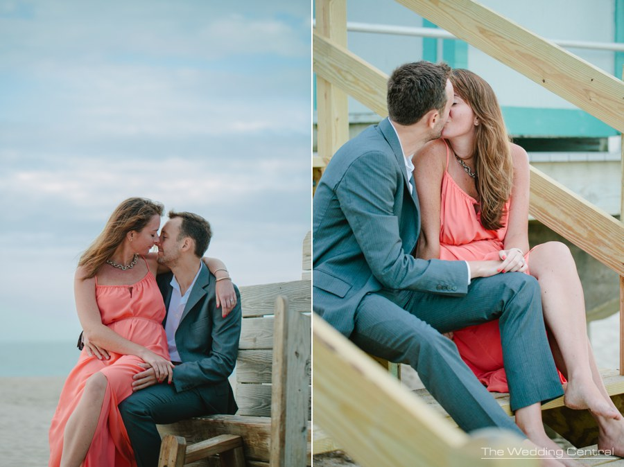spring lakes engagement photography at the jersey shore - beach engagement photos