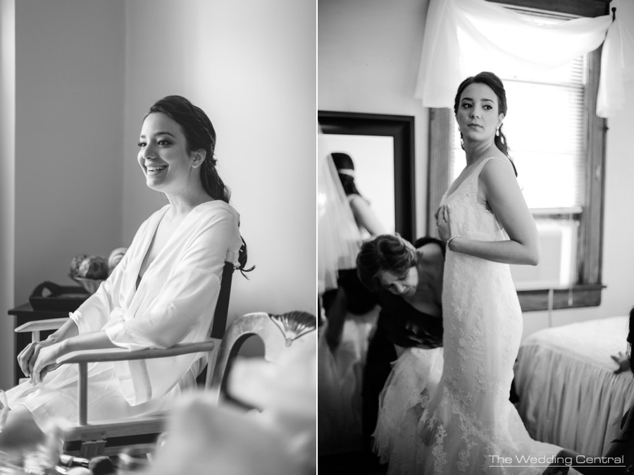 candid wedding photography new jersey - bride getting ready