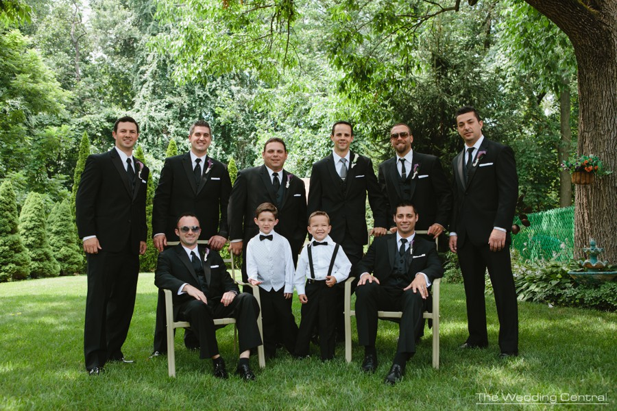 new jersey wedding photography - groomsmen portrait