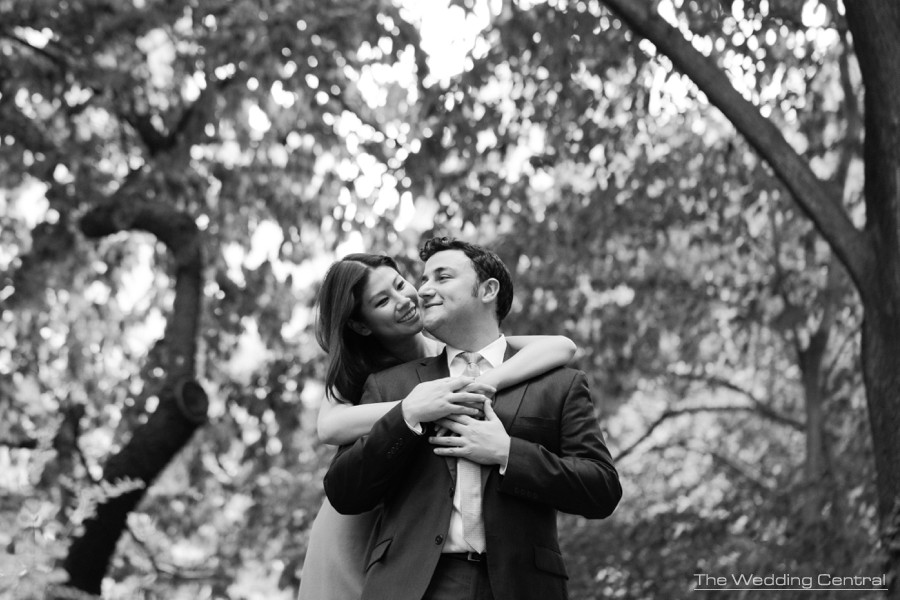 New york engagement photographer - central park engagement photographer
