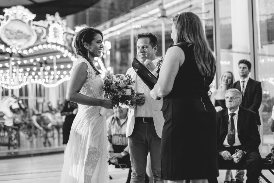 Brooklyn wedding photos - Jane's carousel elopement wedding photos - brooklyn wedding photography