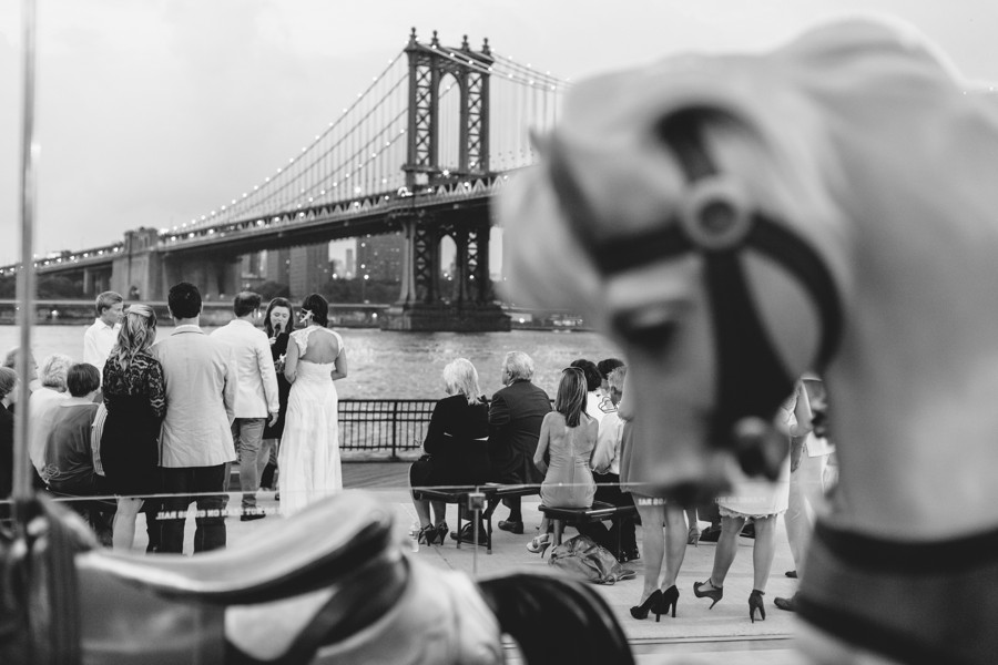 Brooklyn wedding photos - Jane's carousel elopement wedding photos